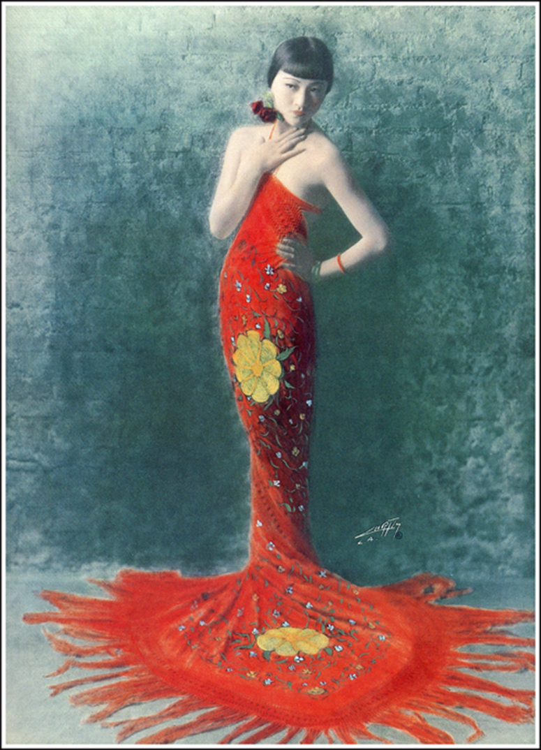Anna May Wong, 1925, by Curtis