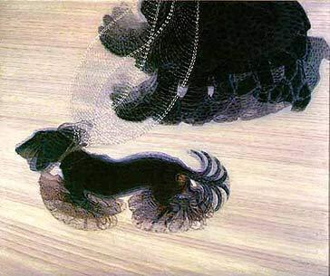 "Giacomo Balla ""Dynamism of a Dog on a Leash"""