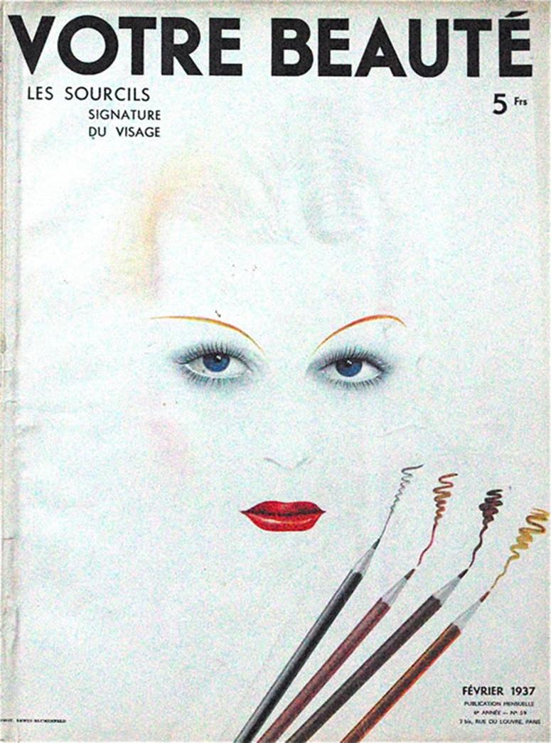 Blumenfeld's first magazine cover.