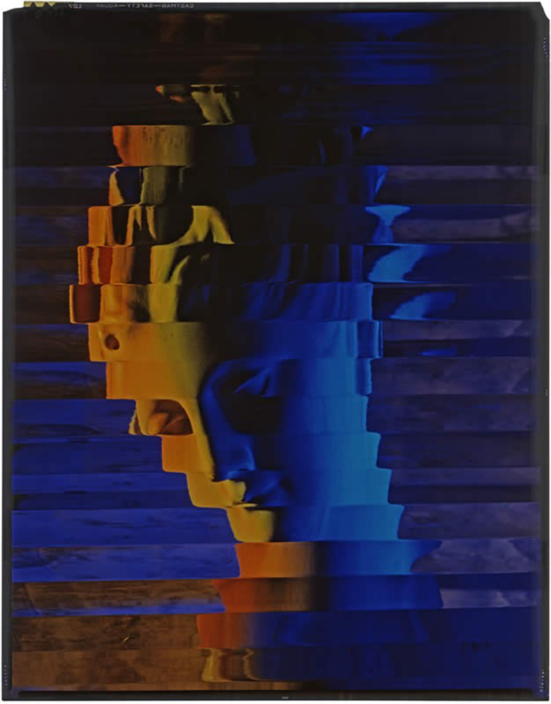 One of Blumenfeld's color experiments.