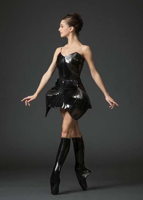 Iris Van Herpen 2013 costume for New York City Ballet dancer.
