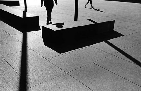Metzker, City Whispers Los Angeles, 1981.