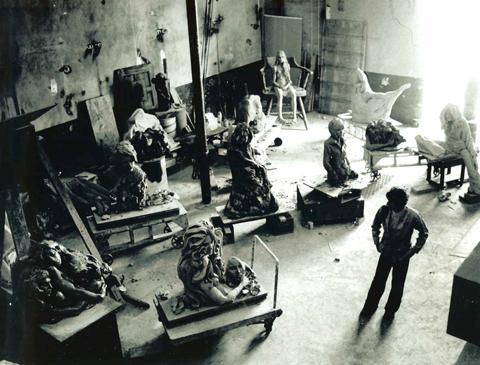 Zalman in the Studio.