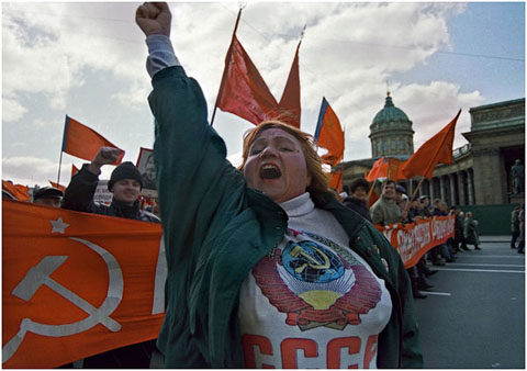 May Day, St. Petersburg
