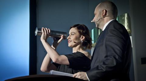 A ctress Magda Rozczka and cinematographer Lukasz Kosmicki hosted the inaugural PSC Awards.