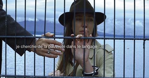 2. goodbye-to-language-2014-001-woman-looking-through-bars