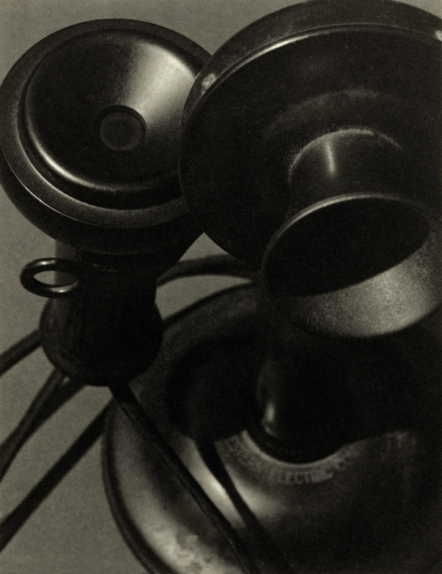 Telephone Study of Forms/Paul Outerbridge