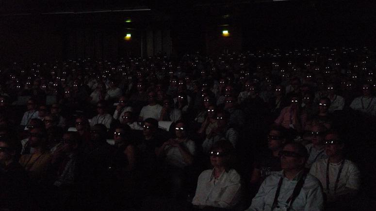 3D screening at IBC's Big Screen