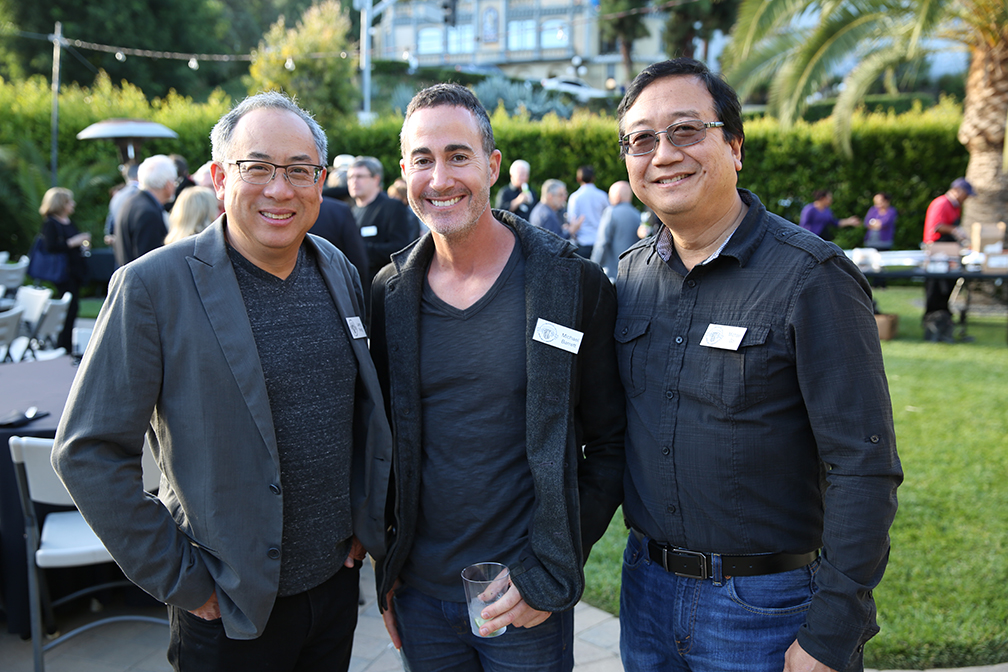 ASC members Larry Fong, Michael Barrett and Michael Goi