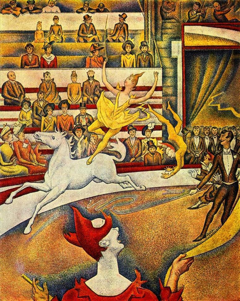 Seurat's The Circus