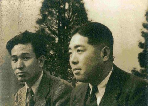 Akira Kurosawa with Mimura