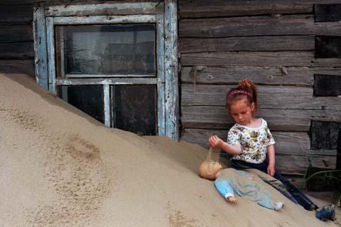 Shojna Settlement, Nenets Autonomous Region, Russia.