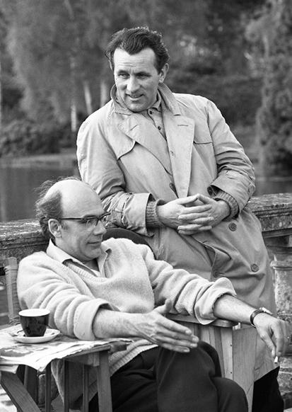 Jack Clayton and Freddie Francis.