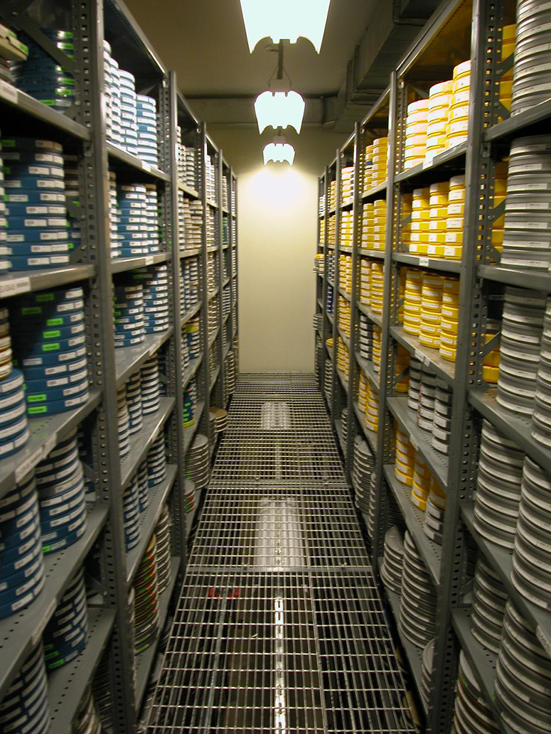 E Vault at the Academy Film Archive