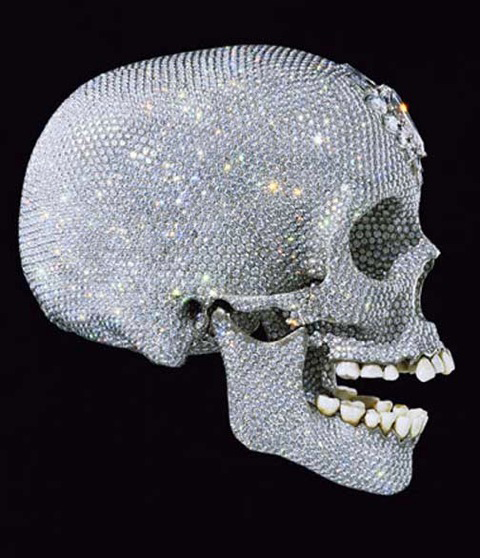 Damien Hirst's FOR THE LOVE OF GOD