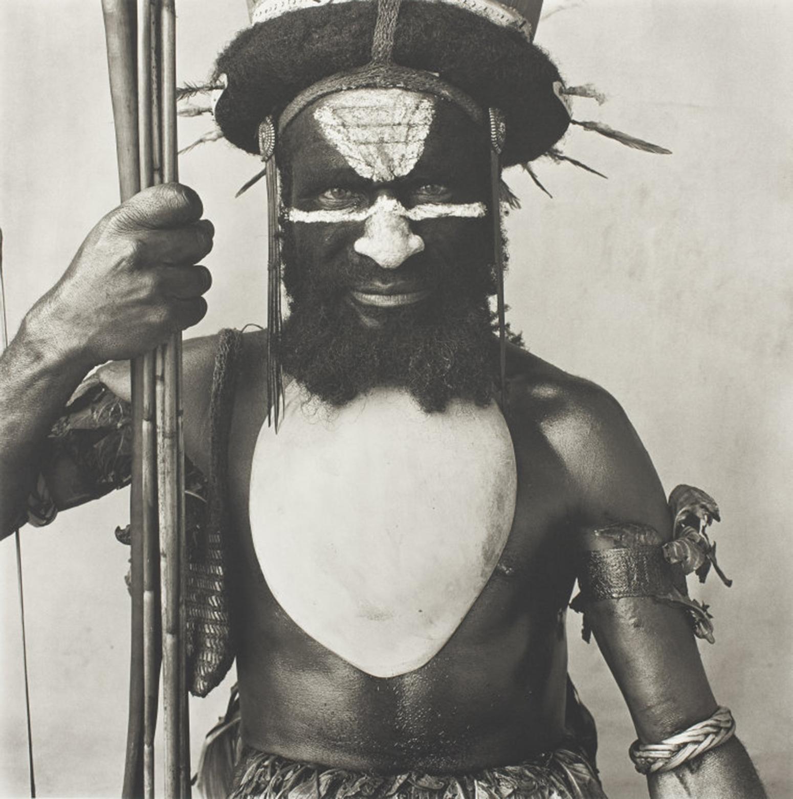 Tambul Warrior by Irving Penn