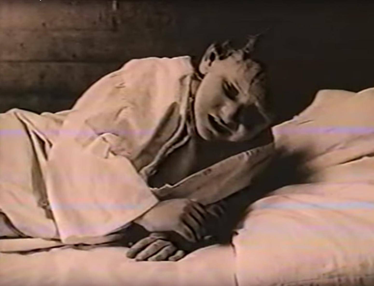 A depiction of Crews at age 5 in Hawkins' documentary.