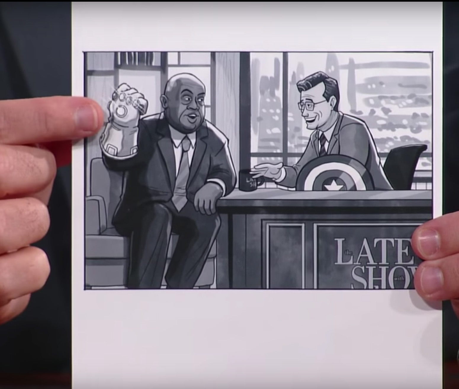Colbert and Lewis
