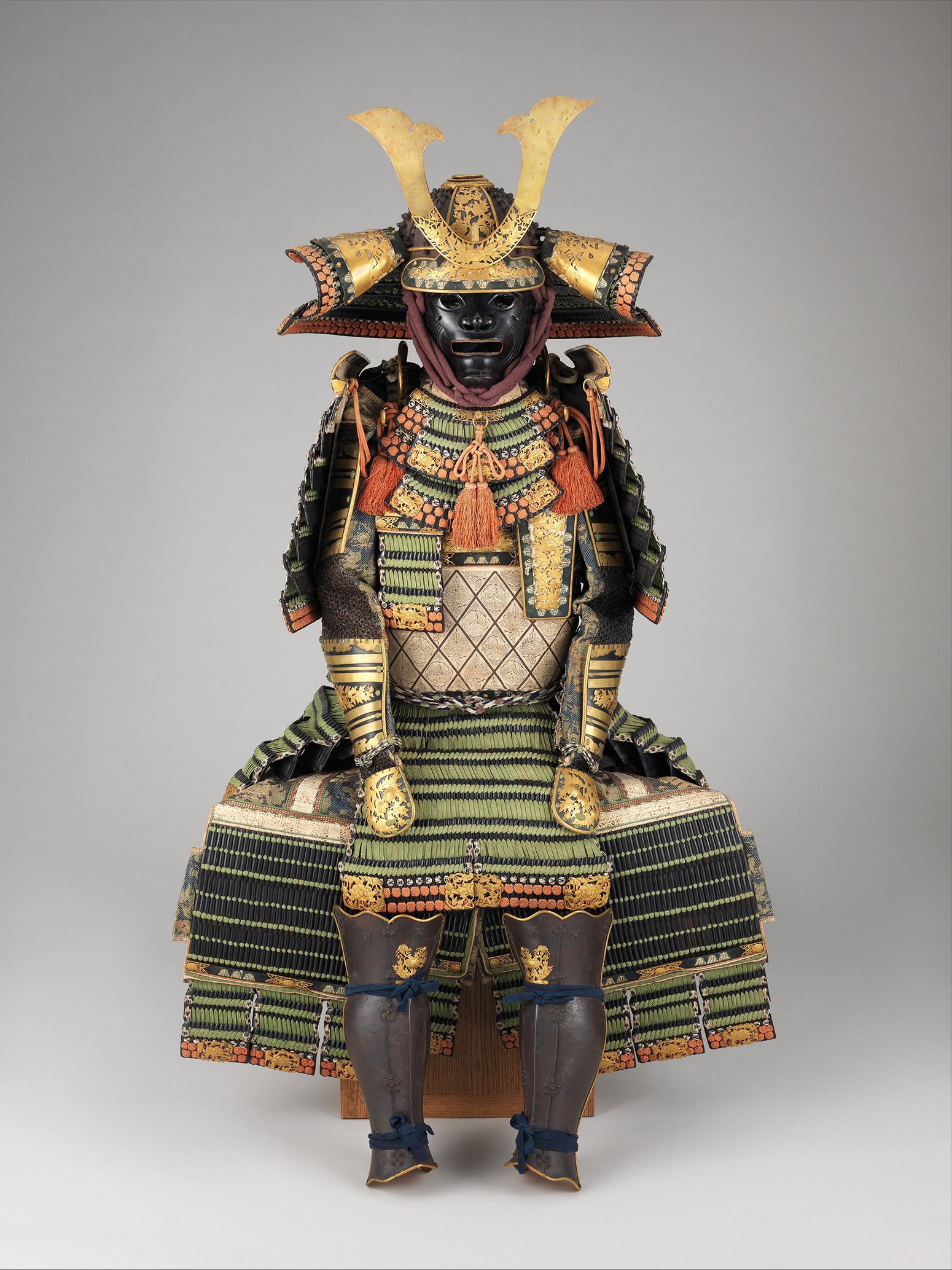 Armor (Yoroi), Edo period (1615–1868), from the Met collection.