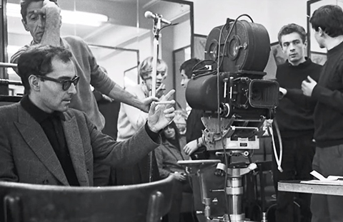 Godard works with Raoul Coutard.