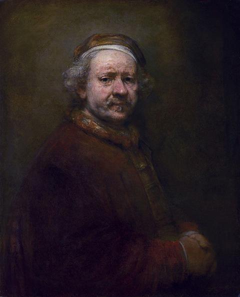 Rembrandt at 63