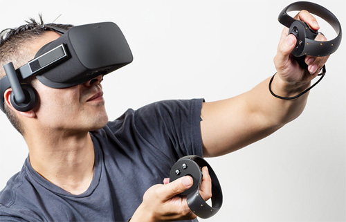 Consumer Oculus Rift with Oculus Touch -thefilmbook-