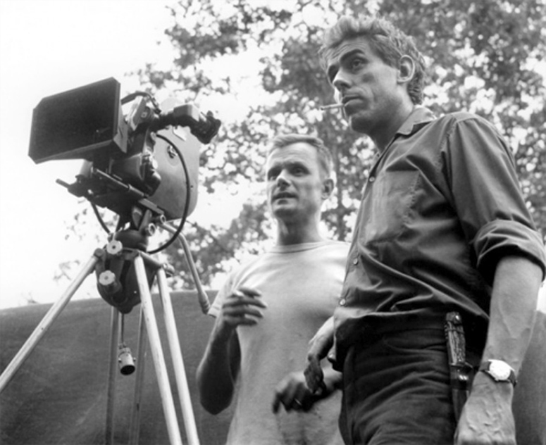 Director Schoendoerffer and Coutard