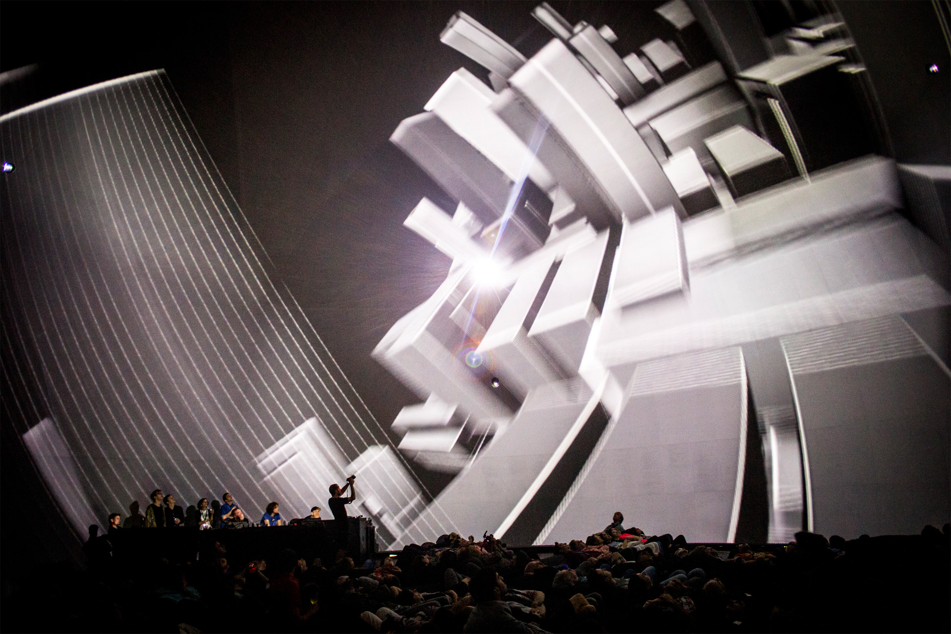 Dome-projection-at-the-SAT-in-Montreal-thefilmbook