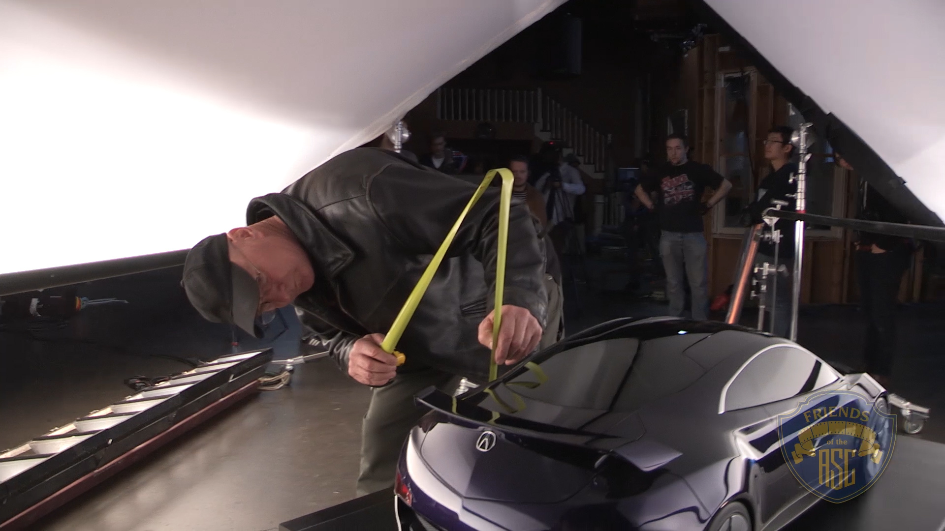 Bill Bennett, ASC Car Commercial Lighting - Onstage Demo