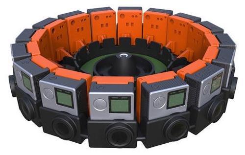 Google Jump 16-camera system-
