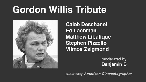 Gordon Willis Tribute - Camerimage 2014 -thefilmbook-