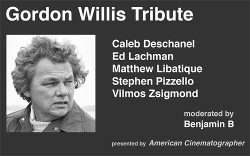 Gordon Willis Tribute at Camerimage 2014 -thefilmbook