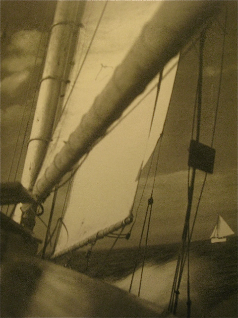 Sails, En Route to Catalina, 1929.