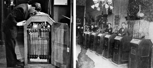 Kinetoscope Detail and Parlor -thefilmbook