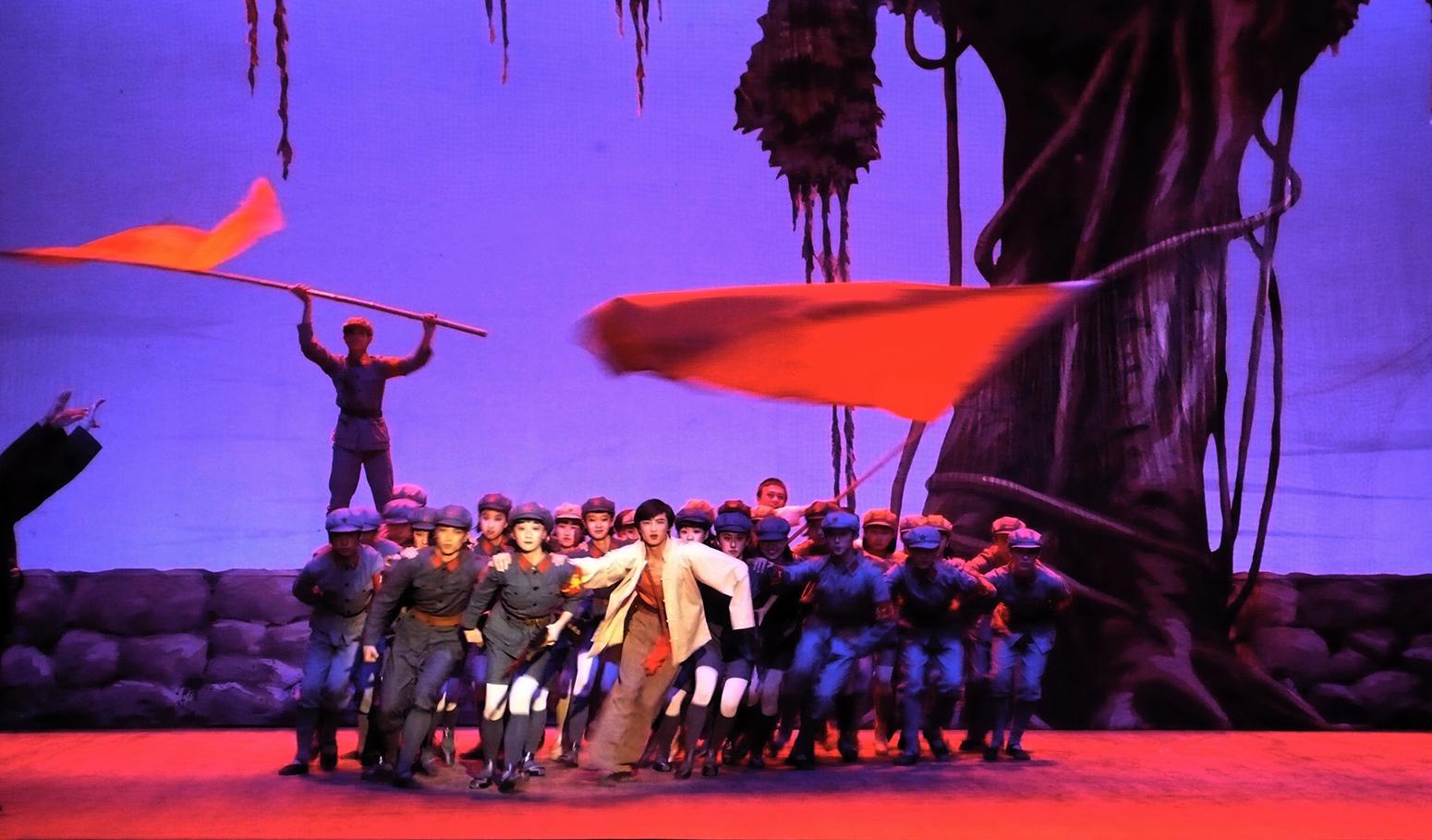 A scene from Mao's Last Dancer. (Credit: Peter James)