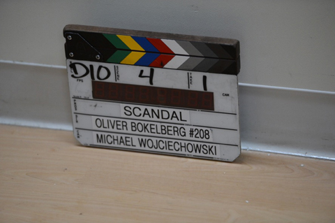 Scandal slate