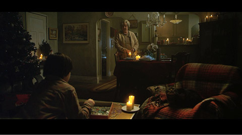 A scene from the short film LAST CHRISTMAS.