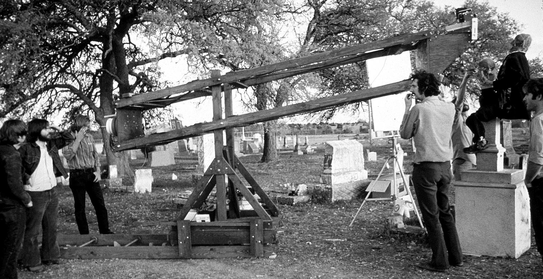 Texas Chainsaw Crane