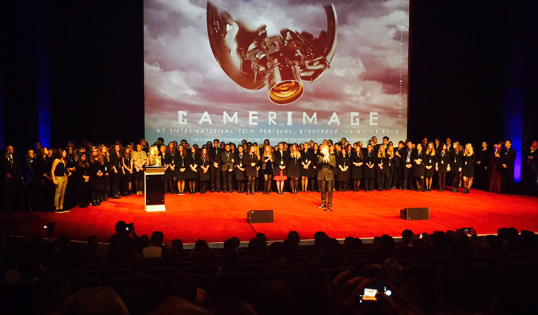 A big thank you and bravo to the 2015 Camerimage organizers, staff and volonteers! (Credit: Stephen Pizzello)