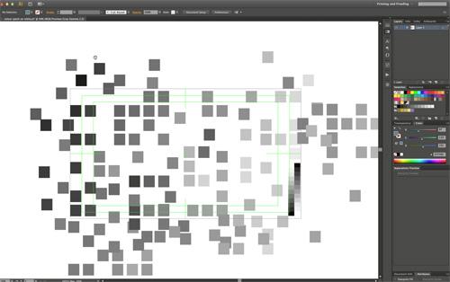 Turner digital palette -brightness samples-