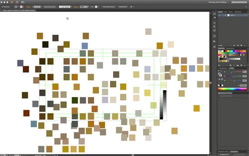 Turner digital palette -gathering samples-