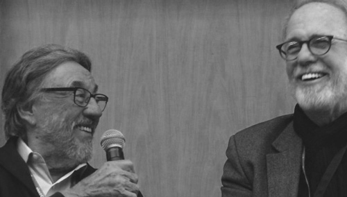 Vilmos Zsigmond and James Plannette - DPs and Gaffers -thefilmbook-