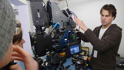 thefilmbook Yke Erkens from Camalot with Element Technica Quasar rig with 2 Alexas and Transvideo