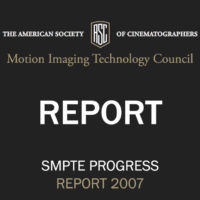 ASC Technology Committee Progress Report 2007
