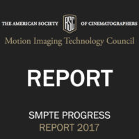 ASC Motion Imaging Technology Council Progress Report 2017