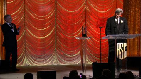 John Bailey ASC Lifetime Achievement Award Reel & Acceptance Speech