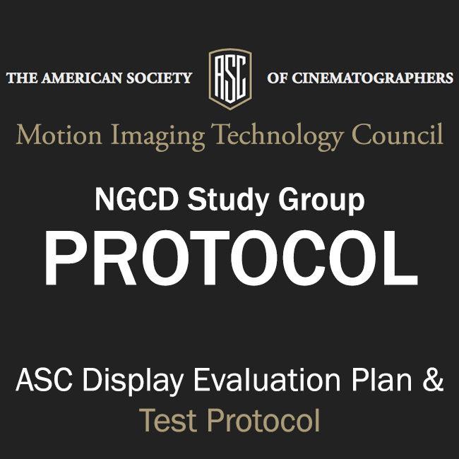 ASC Display Evaluation Plan & Test Protocol