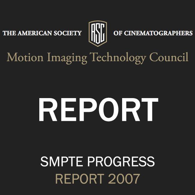 ASC Technology Committee Progress Report 2007
