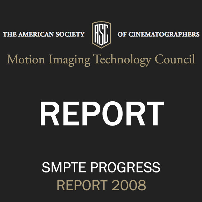 ASC Technology Committee Progress Report 2008