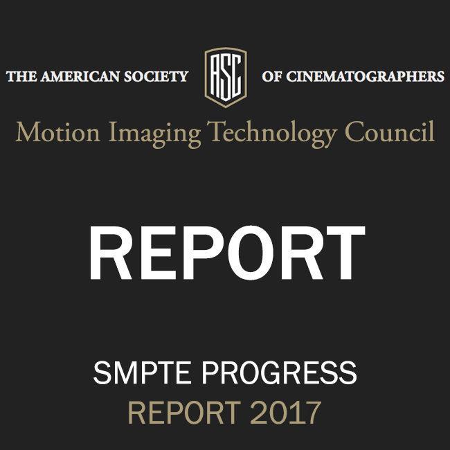 SMPTE Progress Report 2017